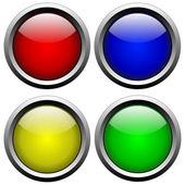Botones de cristal 2 — Foto de Stock