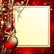 Christmas background — Stockvector #3956218