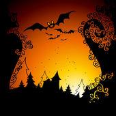 Halloween — Vettoriale Stock