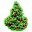 Christmas fir - Image vectorielle