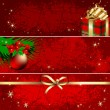 Stock Vector: Christmas banner