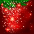 Sparkling christmas background — Imagen vectorial