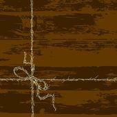 Arco de la cuerda — Vector de stock