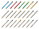 Pencils collection — Stock Vector