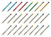 Colección de lápices — Vector de stock