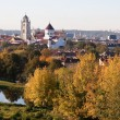 Vilnius old town - Stock Photo