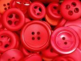 červená tlačítka — Stock fotografie