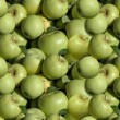Stock Photo: Green apple wallpaper