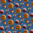 Balloons wallpaper — Stock Photo #4580361