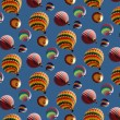 Balloons wallpaper — Stock Photo