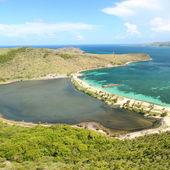 Beach on Saint Kitts — Stock Photo