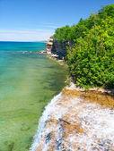 Spray Falls - Michigan UP — Stock Photo
