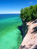 Pictured Rocks - Michigan UP — Stock Photo