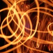 Stock Photo: Swirls of Flame