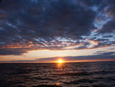 Lake Superior Sunset — Stock Photo