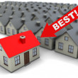 Best house - Stock Photo