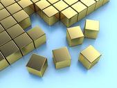 Cubes backgroun — Stock Photo