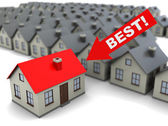 Best house — Stock Photo
