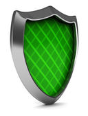 Green shield — Foto Stock