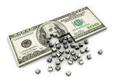 Dollar construction — Stock Photo