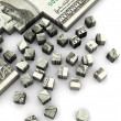 Stock Photo: Dollar puzzle