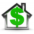 House and money — Stock Photo #4147463
