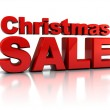 Christmas sale — Stock Photo #4147524