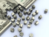 Dollar assembling — Stock Photo
