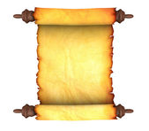 Old paper scroll — Stock Photo