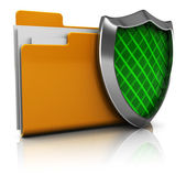 Protected folder — Stock Photo
