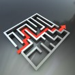 The maze — Stock Photo