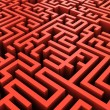 Maze background — Stock Photo