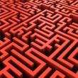 Maze background — Stock Photo #4587055