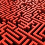 Maze background — Stock Photo