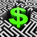Business maze — Stock Photo