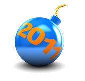 New year bomb — Stock Photo