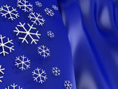 Snowflakes background — Photo