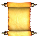 Ancient paper scroll — Stock Photo