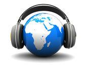 Earth listening — Stock Photo