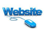 Website control — Stock Photo