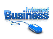 Internet business — Stock Photo