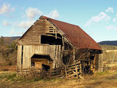 Old Barn — Stockfoto