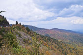 Smoky Mountains in Early Autumn — Stock Photo