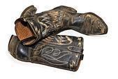 Viejas botas de vaquero — Foto de Stock