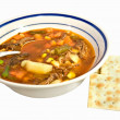 Vegetable Soup or Brunswick Stew — Stock Photo