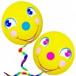 Smiley Face Balloons — Stock Photo