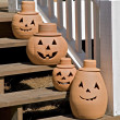 Happy Pumpkins — Stock Photo