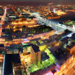Stock Photo: Night city panorama