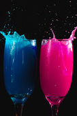 Crazy drinks — Stock Photo