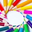 Colors pens - Stock Photo
